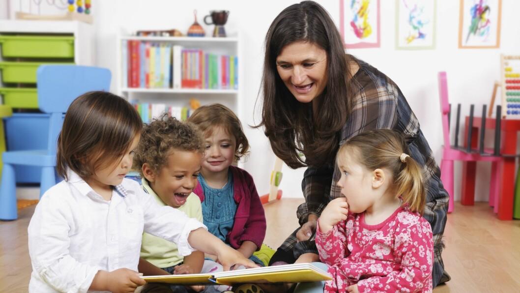 Flere barnehagelærere og fagarbeidere vil øke kvaliteten i barnehagen.