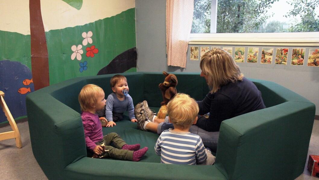 – Hele prosjektet handler om hvordan vi i barnehagen, i samarbeid med foreldrene, kan legge til rette for en så god barnehagestart for barna som mulig, sier styrer i Kurland barnehage, Sissel Berg.