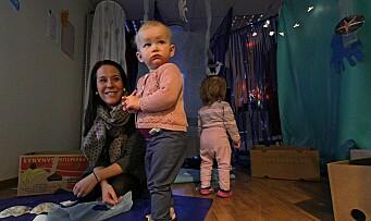 Bygger trygge toddlere i små grupper
