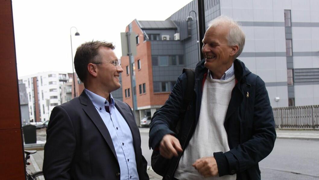 Samarbeid: Espen Rokkan fra PBL og Arne Fjalstad fra UiN er allerede i gang med å planlegge det som skal bli verdens beste ABLU.