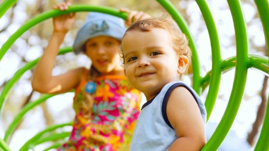 Ny tilværelse: De første tilvenningsdagene i barnehagen er viktige for at barnet skal bli trygg på omgivelsene.
