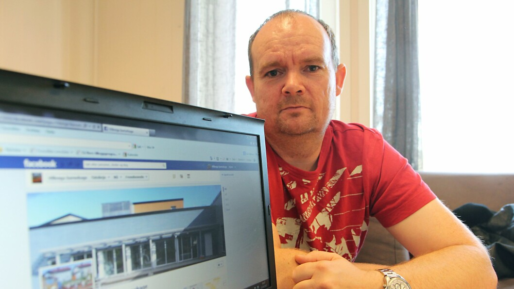 Styrer i Villenga barnehage, Geir Røkkum, ønsker sosiale media velkommen.