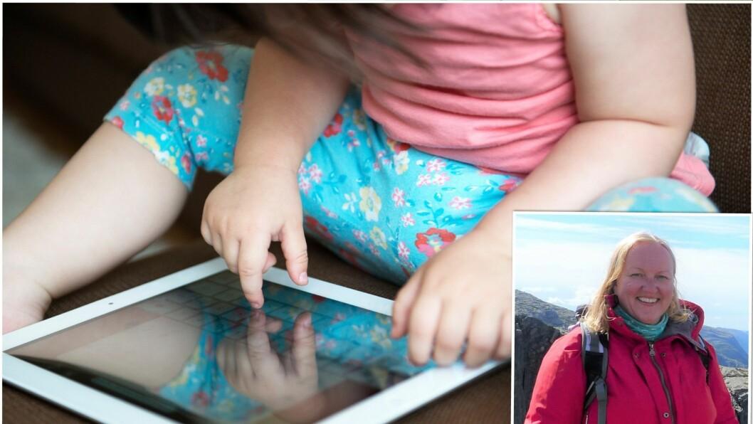 – Hvordan skal vi introdusere ettåringer for nettbrett? spør barnehagelærer Ellen Cathrine Ellefsen