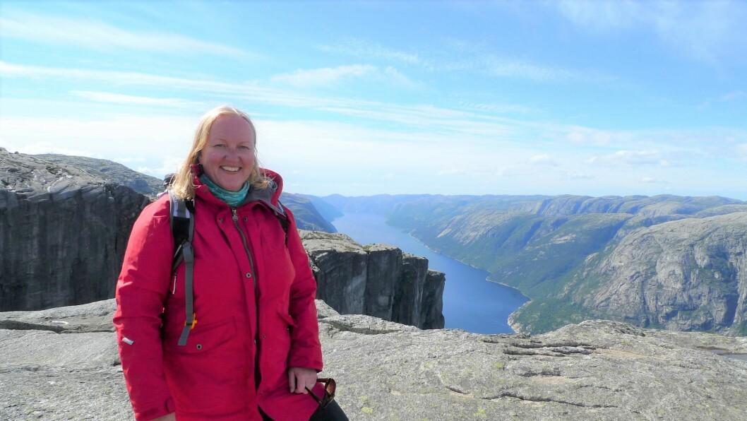 Ellen Cathrine Ellefsen er barnehagelærerstudent ved Universitetet i Agder.