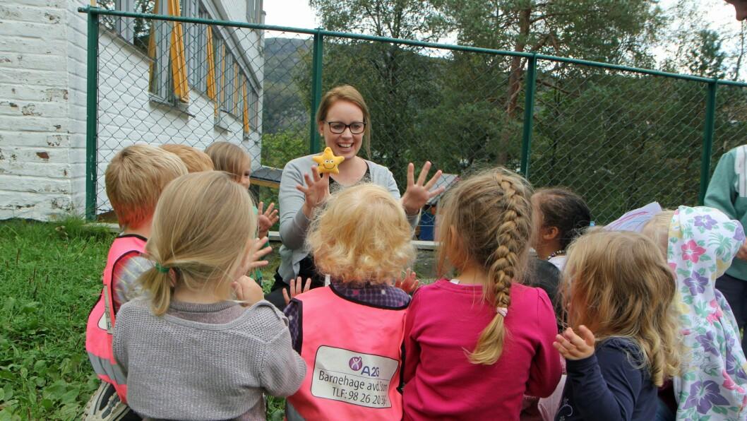 Erle Sellevåg er migrasjonspedagog i A2G barnehage i Bergen.