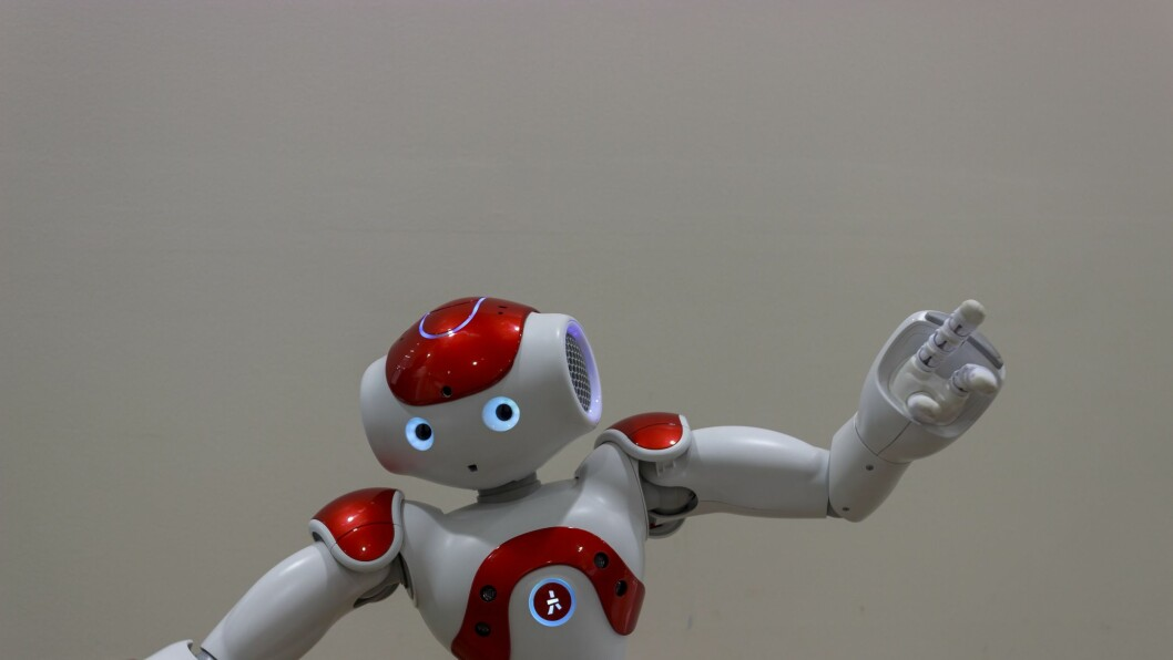 Roboter brukes som en del av det pedagogiske opplegget i flere danske barnehager.