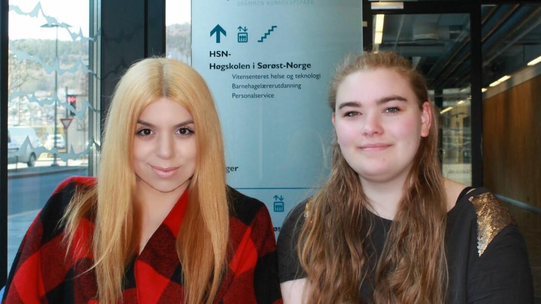 Nathalie Rabiah Butt og Othilie Wilhelmsen Solli er barnehagelærerstudenter ved Høgskolen i Sørøst-Norge.
