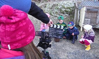 Lar barna lage egen film