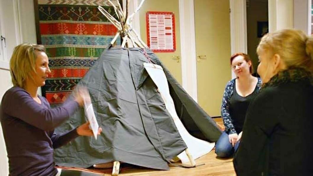 – Vi mener verktøyet er særlig aktuelt for samisktalende barn, barn som ikke har daglig samisktalende språkmiljø å oppholde seg i og barn som trenger intensiv språkopplæring, forteller Heidi Aabrekk, gründer av Intempo som står bak Bravo-leken.