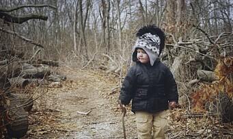 Friluftsliv for de minste i barnehagen
