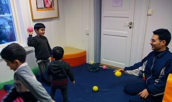 Åpner dørene for flyktningbarna