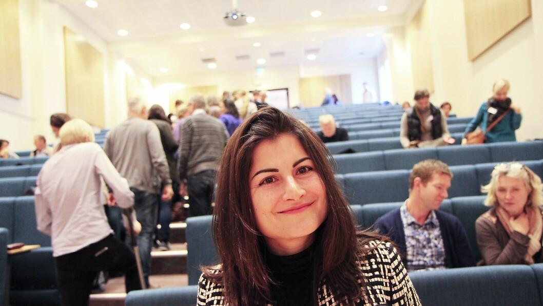Professor Ella Cosmovici Idsøe ved Naturfagsenteret på Universitetet i Oslo. (Arkivfoto).