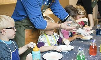 Åpnet ny forskningspark for barnehagebarn: – Alt vi gjør er basert på lek