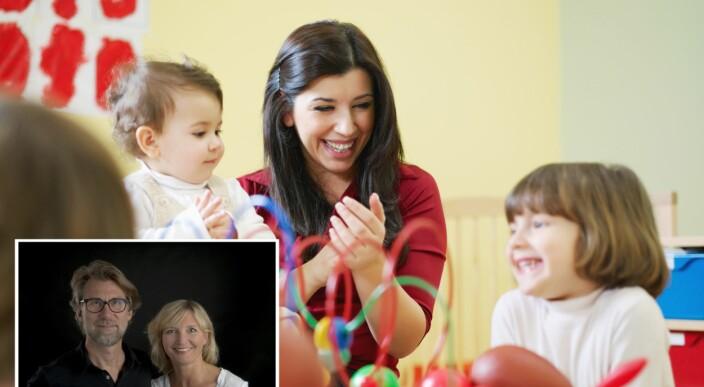 – Viktig at barn opplever at de voksne gleder seg over å være sammen med dem