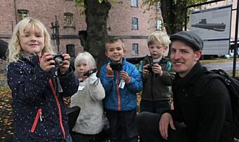 Video: Her bruker barna kamera i jakten på de små detaljene i nærmiljøet