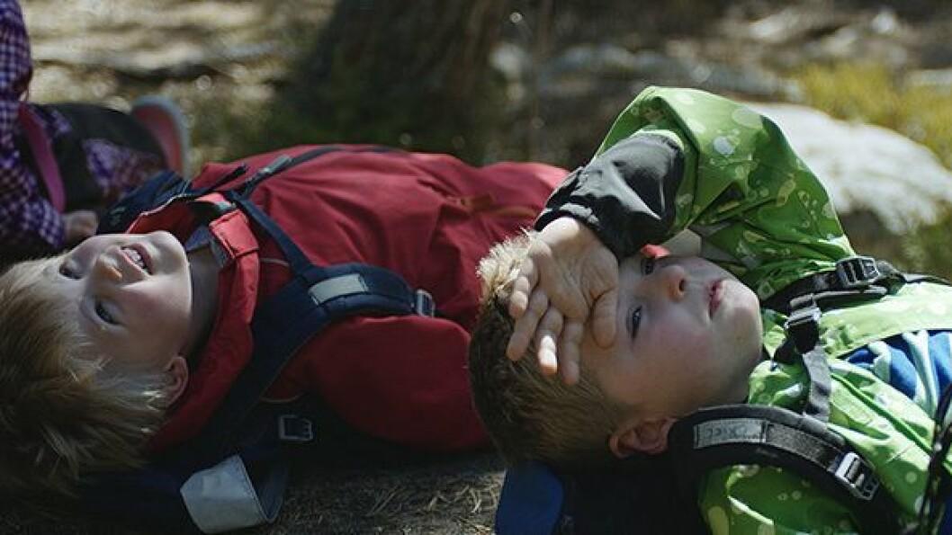"""Bildet er hentet fra filmen """"Barndom"""" av Margreth Olin."""