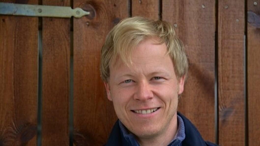 Forfatter og barnevernspedagog Heine V. Vestvik.
