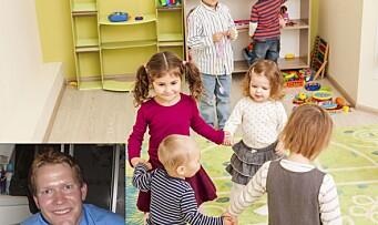 Vi trenger et mangfold av egenskaper og personligheter i barnehagen: – Sammen er vi sterke!