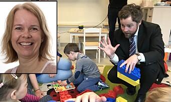 Nå trer ny rammeplan i kraft: Tror den vil gjøre barnehager bedre