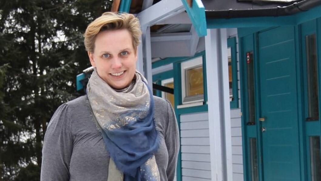 Hanne Kolnes Williams er daglig leder i Midtstuen Kanvas-barnehage.