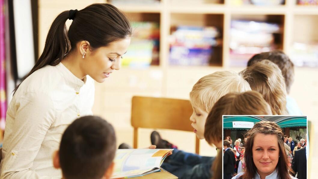 – Det er en del regler som hører til i en lesestund, og hovedreglene er at alle barn må sitte stille og være stille mens den voksne leser. Men er denne metoden den eneste metoden for en meningsfull lesestund for barn? spør barnehagelærerstudenten.