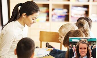 La barna være aktive deltakere i lesestunden