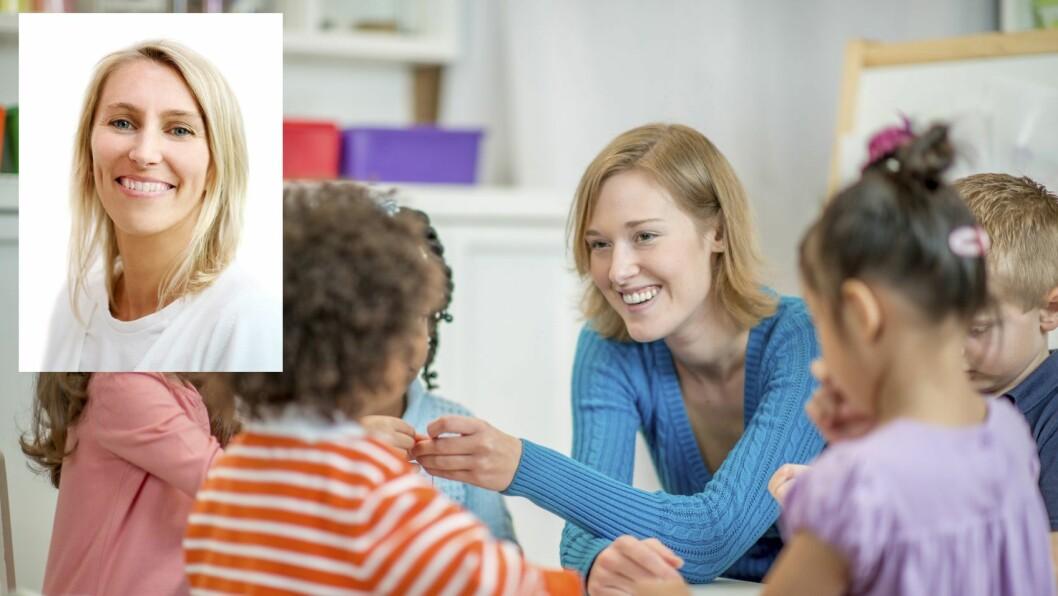 – Hvilke begreper vi bruker påvirker vårt syn på barna. Og i neste omgang påvirker det barnas syn på seg selv, sier professor Hildegunn Fandrem.