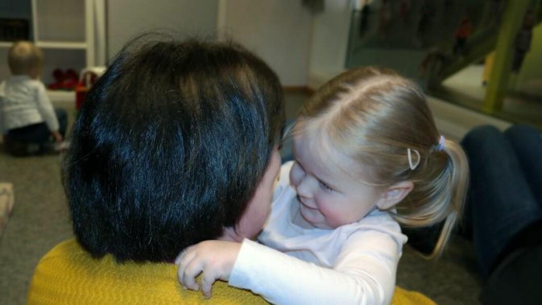 – Vi snakker mye om følelser og om at alle følelser er lov, sier styrer Anette Lauareid Hovda i Småfolk barnehage.