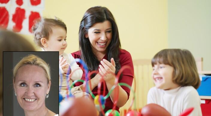 Retter blikket mot barna som har ekstra utfordringer med språk og kommunikasjon