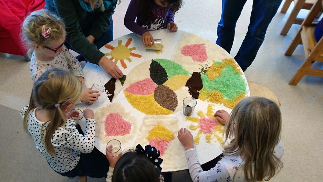 Gråtass barnehage i Fredrikstad er med i et internasjonalt prosjekt kalt «Let the children change the world».