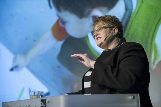 Kunnskaps- og integreringsminister Trine Skei Grande (V).