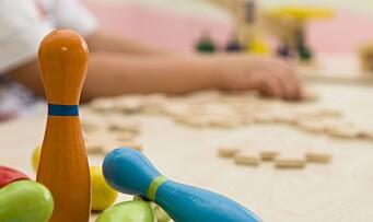 –For store forskjeller i barnehage-Norge