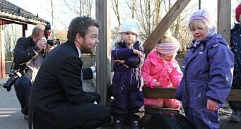 Regjeringen dropper uavhengig tilsyn av barnehagene