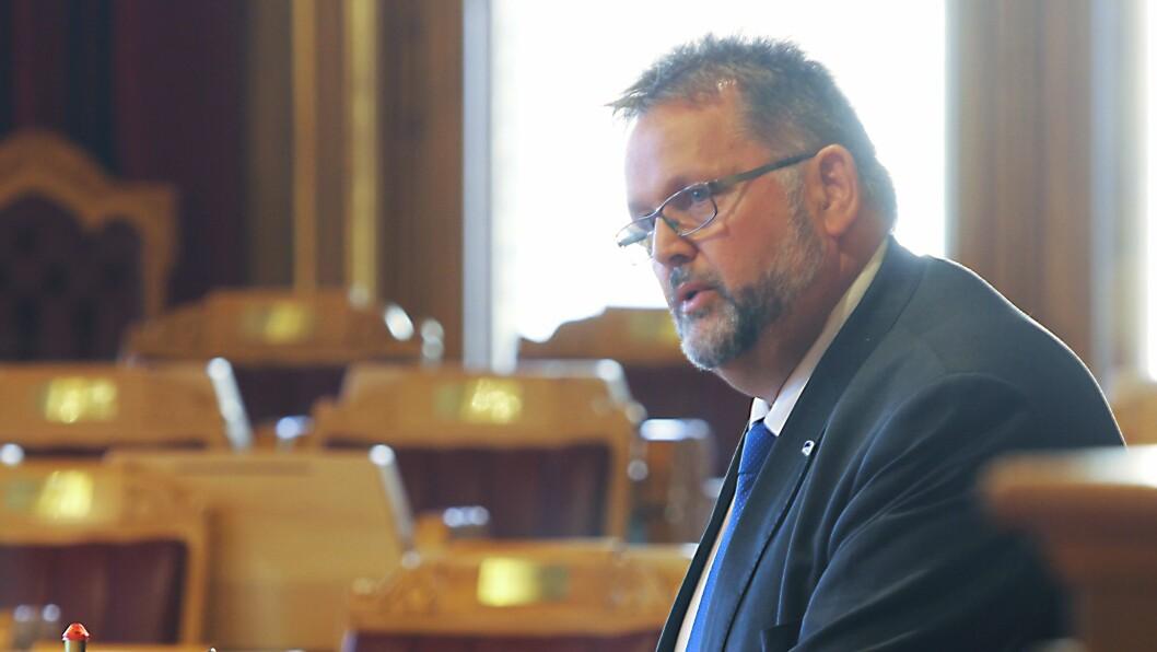 Svein Harberg (H) i Familie- og kulturkomiteen.