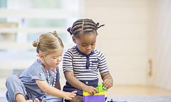 – La meg leke i barnehagen - så skal jeg vise deg resultater på skolen!