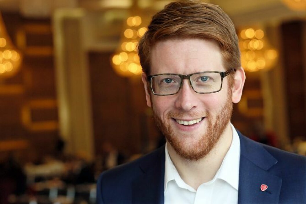 Stortingsrepresentant Martin Henriksen (Ap)