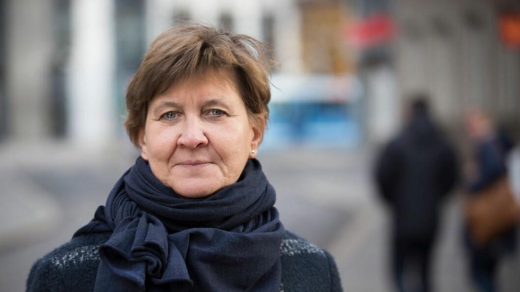 Mette Nord er leder i Fagforbundet.