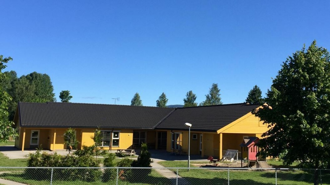 Ankertunet barnehage i Eidsvoll.