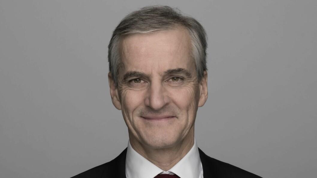 Jonas Gahr Støre er leder i Arbeiderpartiet.