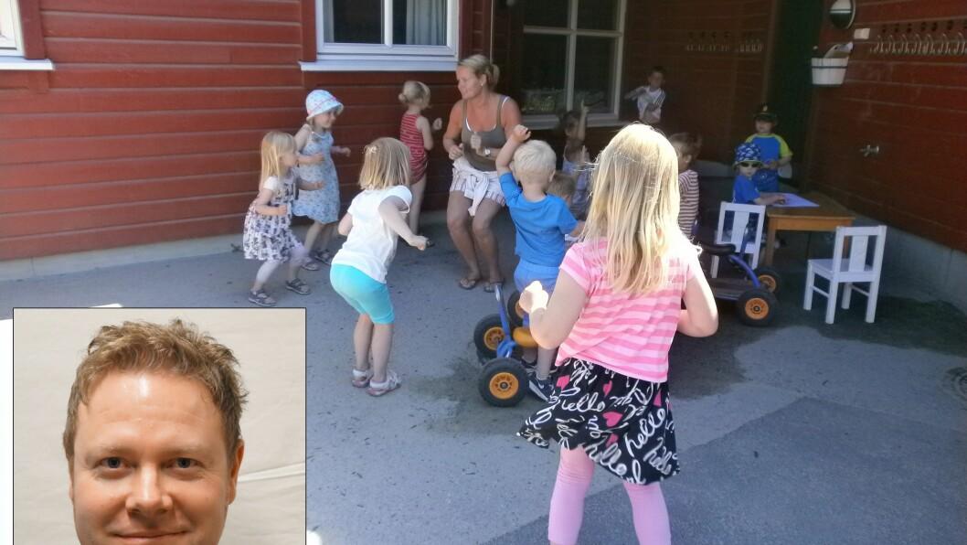 Daglig leder i Smedhusåsen barnehage, Royne K. Berget, er har engasjert seg i debatten om tilskudd og bemanning i barnehagene.
