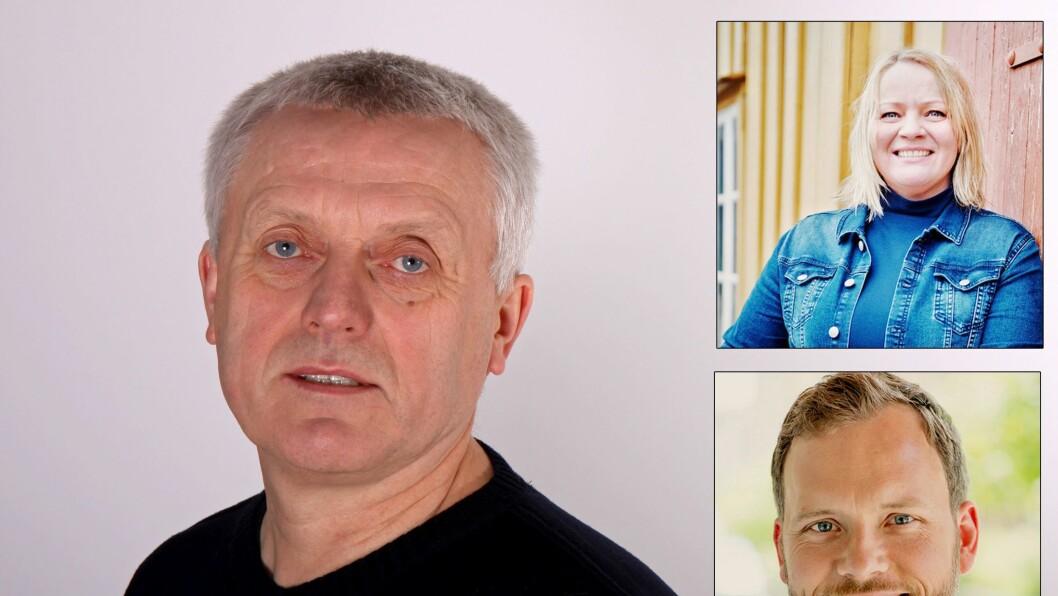 Administrerende direktør i PBL, Arild M. Olsen, Nordland SVs 1. kandidat Mona Fagerås og Audun Lysbakken, leder i SV.