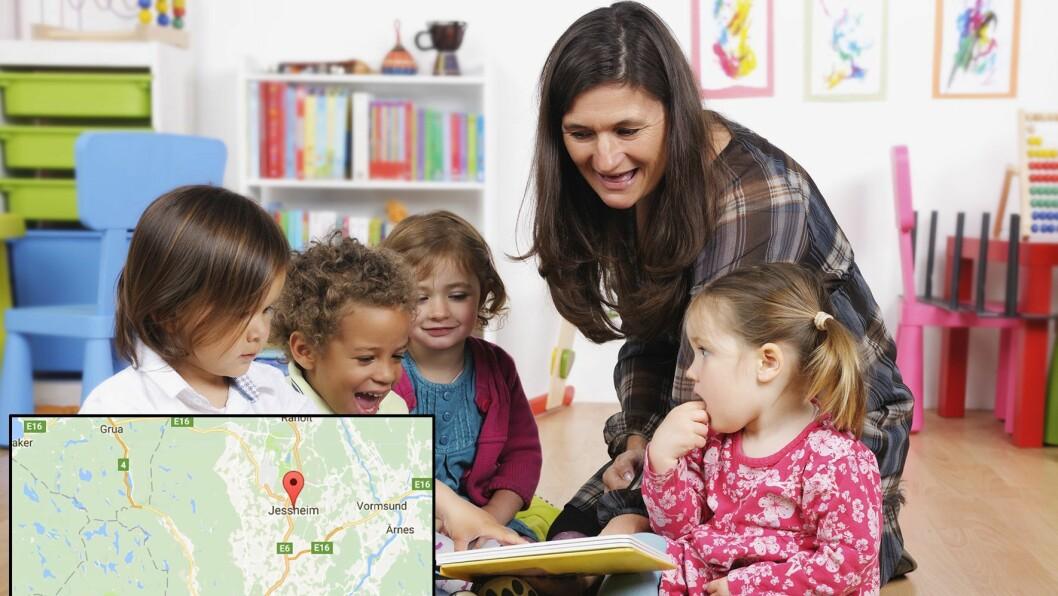 De kommunale barnehagene på Jessheim består.