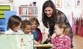 Dropper forslaget om å legge ned flere barnehager