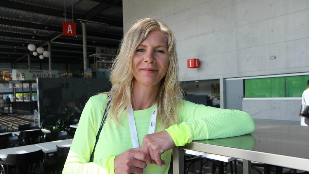 Styrer Lise Lauvik i Langøy friluftsbarnehage.