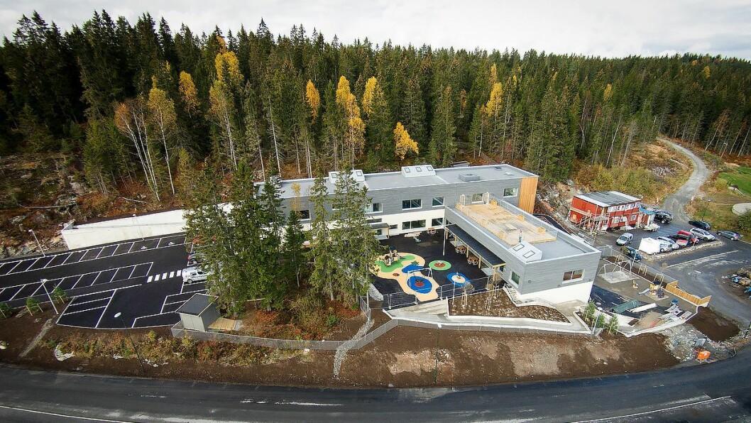 Fjellbovegen barnehage sto klar til bruk i november 2015.