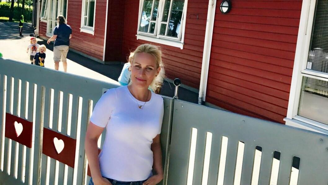 Daglig leder Tone Løyning Narvesen i Ekholt barnehage i Rygge.