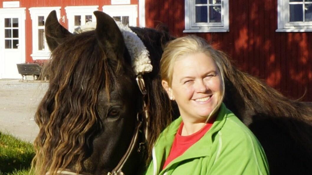 Inger Cecilie Huseby Grønnerød er avtroppende styrer i Skogkanten dyr & gårdsbarnehage i Halden.