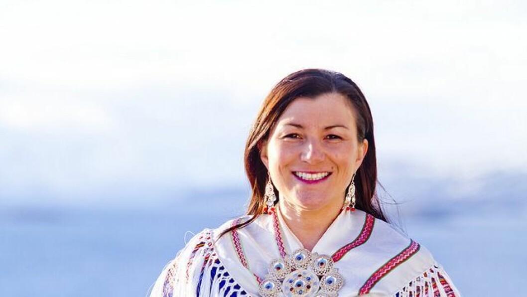 Inger Elin Utsi i Norske Samers Riksforbund.