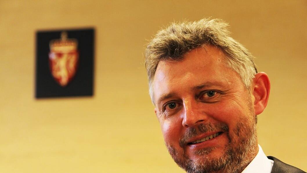 Advokat Hans Are Nyheim i PBL.