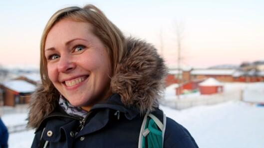 Andreårsstudent Camilla Henriksen er positiv til prosjektet, og er spent på om hun selv kommer til å dra nytte av det.
